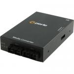 S-1000MM-S2SC160 Media Converter - 2 x SC Ports - 1000Base-ZX 1000Base-SX - Rack-mountable Wall Mountable Rail-mountable