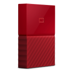 WD 3TB MY PASSPORT PORTABLE RED