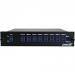 Networks 1310nm Add/Drop with E/W Lines w/LC - 2 Data Channels - 10 Gigabit Ethernet - 10 Gbps