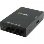 S-100MM-S2ST20 Media Converter - 2 x ST Ports - 100Base-LX 100Base-FX - Wall Mountable Rail-mountable Rack-mountable