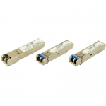 Juniper compatible - SFP (mini-GBIC) transceiver module - GigE - 1000Base-LX - LC single-mode - up to 6.2 miles - 1310 nm