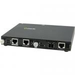 SMI-1000-S2LC70 Media Converter - 2 x Network (RJ-45) - 1 x LC Ports - Yes - 1000Base-T 1000Base-ZX 10/100/1000Base-T - External Rail-mountable Rack-mountable Wall Mountable