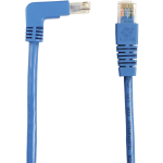 Box SpaceGAIN Cat.6 Network Cable - Category 6 for Network Device - 15 ft - 1 x RJ-45 Male Network - 1 x RJ-45 Male Network - Gold-plated Contacts - Blue