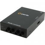 S-1000MM-M2ST05 Transceiver - 2 x ST Ports - 1000Base-SX - Rail-mountable Rack-mountable Wall Mountable