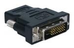High Speed HDMI Female to DVI Male Adaptor - 1 x HDMI (Type A) Female Digital Audio/Video - 1 x DVI-D Male Digital Video