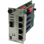 C6110 Series 4xT1/E1/J1 Copper to Fiber network Interface Device - Short-haul modem - up to 0.9 miles - T-1/E-1/J-1