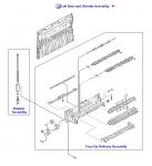 LaserJet 9000 9040 9050 M9040 M9050 Face-up Delivery Assembly