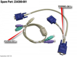 PS/2 local access cable kit - For PCI Card KVM Switch Management card - Includes one PS/2 keyboard/mouse cable and one VGA video cable