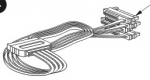 Serial Attached SCSI (SAS) hard disk drive cable - Internal 4-lane