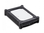 3.5inch SATA/IDE Hard Drive Soft Gel Protector Cover Black Retail