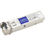 Brocade Compatible SFP+ Transceiver - SFP+ transceiver module (equivalent to: Brocade 10G-SFPP-BXU-40K) - 10 Gigabit Ethernet - 10GBase-BX - LC single-mode - up to 24.9 miles - 1270 (TX) / 1330 (RX) nm