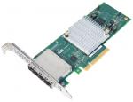 HBA 1000-16e 12Gb/s PCIEx8 MD2 Low Profile 16Port SAS/SATA Retail