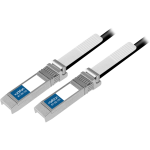Brocade 1M 10G-SFPP-TWX-0101 Compatible 10Gbase SFP+ Twinax Cable - Twinaxial for Network Device - 3.28 ft - 1 x SFP+ Network - 1 x SFP+ Network