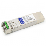 Brocade 10G-SFPP-ZR Compatible SFP+ Transceiver - SFP+ transceiver module (equivalent to: Brocade 10G-SFPP-ZR) - 10 GigE - 10GBase-ZR - LC single-mode - up to 49.7 miles - 1550 nm - for Brocade NetIron CER 20XX CES 20XX MLX-16 32 MLX-4 MLX-8 XMR 160