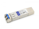 SFP+ transceiver module (equivalent to: Calix 100-01512) - 10 Gigabit Ethernet - 10GBase-LR - LC single-mode - up to 6.2 miles - 1310 nm