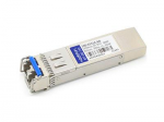 SFP+ transceiver module (equivalent to: Calix 100-01514) - 10 Gigabit Ethernet - 10GBase-SR - LC multi-mode - up to 984 ft - 850 nm