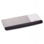 Tilt-Adjustable Platform for Keyboard and Mouse - Keyboard/mouse wrist rest - black metallic gray