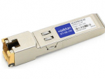 Avaya AA1419043-E6 Compatible SFP Transceiver - SFP (mini-GBIC) transceiver module - GigE - 1000Base-TX 1000Base-T - RJ-45 - up to 328 ft
