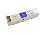 SFP (mini-GBIC) transceiver module (equivalent to: IBM 00AY240) - GigE - 10Base-T 1000Base-TX 100Base-TX - RJ-45 - up to 328 ft - TAA Compliant