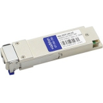 Brocade 40G-QSFP-LR4 Compatible QSFP+ Transceiver - QSFP+ transceiver module (equivalent to: Brocade 40G-QSFP-LR4) - 40 Gigabit LAN - 40GBase-LR4 - LC single-mode - up to 6.2 miles - 1270-1330 nm - for Brocade ICX 7750-26Q 7750-48C 7750-48F NetIron MLX