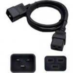 6ft 100-250V Power Cable - Power extension cable - IEC 60320 C20 to IEC 60320 C19 - AC 100-250 V - 6 ft