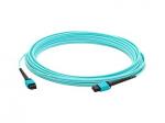 30m MPO OM3 Aqua Patch Cable - Patch cable - MPO multi-mode (M) to MPO multi-mode (M) - 98 ft - fiber optic - 50 / 125 micron - OM3 - aqua