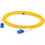 Patch cable - LC/APC single-mode (M) to LC/PC single-mode (M) - 10 m - fiber optic - 9 / 125 micron - OS1 - halogen-free - yellow