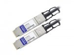 40GBase direct attach cable - TAA Compliant - QSFP+ to QSFP+ - 10 ft - twinaxial - passive - for Dell Networking C9010 S6010 Dell EMC Networking S4048 PowerEdge C6420 R640 R740 R940
