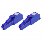 2 Pack of 10dB LC Patch Attenuator - Network attenuator - LC/PC single-mode (F) to LC/PC single-mode (M) - fiber optic 10 dB (pack of 2)