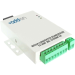 500Kbs 1 Serial to 1 ST Med Converter - Serial port extender - serial - serial RS-232 serial RS-422 serial RS-485 / ST single-mode - up to 12.4 miles - 1310 nm