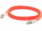 Fiber Optic Patch Network Cable - Fiber Optic for Network Device Patch Panel Hub Switch Media Converter Router - 82.02 ft - 2 x LC Male Network - 2 x LC Male Network - Orange