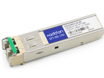 Avaya AA1419051-E6 Compatible SFP Transceiver - SFP (mini-GBIC) transceiver module (equivalent to: Avaya/Nortel AA1419051 Avaya/Nortel AA1419051-E5 Avaya/Nortel AA1419051-E6) - GigE - 1000Base-XD - LC single-mode - up to 24.9 miles - 1550 nm - for Avaya