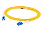 50m LC OS1 Yellow Patch Cable - Patch cable - LC/UPC single-mode (M) to LC/UPC single-mode (M) - 50 m - fiber optic - 9 / 125 micron - OS1 - halogen-free - yellow