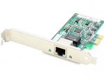 10/100/1000Mbs Single Open RJ-45 Port 100m PCIe x4 Network Interface Card - Cost effectively add additional ports and connectivity