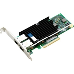 10Gbs Dual Open RJ-45 Port 100m PCIe x8 Network Interface Card - Cost effectively add additional ports and connectivity