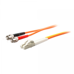 2 x ST 50/125 to 1 x LC 50/125 & 1 x LC 9/125 3m Fiber Optic Mode Conditioning Patch Cable - Fiber Optic for Network Device - 9.84 ft - 2 x ST Male Network - 2 x LC Male Network