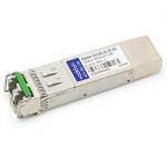 Cisco Compatible SFP+ Transceiver - SFP+ transceiver module (equivalent to: Cisco DWDM-SFP10G-61.41) - 10 GigE - 10GBase-DWDM - LC single-mode - up to 49.7 miles - 1561.42 nm - for Cisco Service Edge Optimized Line Card Catalyst 3650 6880 ME 3600 Nexu