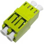 Female LC/ to Female LC/ SMF Duplex Fiber Optic Adapter - 2 x LC Female Network - 2 x LC Female Network