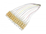Pigtail - SC single-mode (M) - 10 ft - fiber optic - 9 / 125 micron - OS1 - multicolor