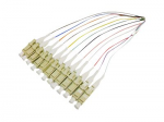 THIS IS A 5M SPLICE 12-STRAND MULTICOLORED RISER-RATED FIBER PIGTAIL CABLE. OS1