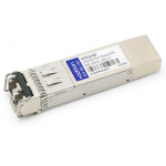 HP AJ715A Compatible SFP Transceiver - SFP+ transceiver module (equivalent to: HP AJ715A) - 4Gb Fibre Channel (SW)  2Gb Fibre Channel (SW)  8Gb Fibre Channel (SW) - Fibre Channel - LC multi-mode - up to 492 ft - 850 nm - for HPE 8/24 8/8 SAN Switch 8/
