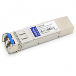 HP AJ907A Compatible SFP+ Transceiver - SFP+ transceiver module (equivalent to: HP AJ907A) - 2Gb Fibre Channel (LW)  4Gb Fibre Channel (LW)  8Gb Fibre Channel (LW) - Fibre Channel - LC single-mode - up to 6.2 miles - 1310 nm - for HPE BLc3000 Enclosure