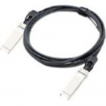 40GBase direct attach cable - SFP+ to QSFP+ - 5 m - fiber optic - active - TAA Compliant