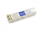 SFP (mini-GBIC) transceiver module (equivalent to: Alcatel-Lucent ISFP-GIG-EZX) - GigE - 1000Base-ZX - LC single-mode - up to 74.6 miles - 1550 nm - TAA Compliant