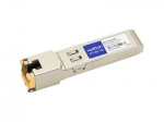SFP (mini-GBIC) transceiver module (equivalent to: HP J8177C-10PK) - GigE - 1000Base-TX - RJ-45 - up to 328 ft - TAA Compliant (pack of 10) - for HPE 1810 1910 20p 10/100/1000 2610 3500 6200 Switch 8212 HPE Aruba 2530 5406