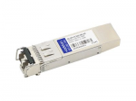 SFP+ transceiver module (equivalent to: Cisco DS-SFP-FC10G-SW) - 10 GigE - 10GBase-SW - LC multi-mode - up to 984 ft - 850 nm - TAA Compliant
