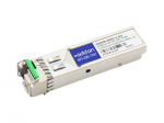 SFP+ transceiver module (equivalent to: HP JD094B) - 10 GigE - 10GBase-BX - LC single-mode - up to 37.3 miles - 1270 (TX) / 1330 (RX) nm - TAA Compliant - for HP A5830AF HPE 12504 5120 5500 5810 5900AF 5920AF FlexFabric 1.92 11908 12902