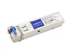 SFP+ transceiver module (equivalent to: HP JD094B) - 10 GigE - 10GBase-BX - LC single-mode - up to 6.2 miles - 1330 (TX) / 1270 (RX) nm - TAA Compliant - for HP A5830AF HPE 12504 5120 5500 5810 5900AF 5920AF FlexFabric 1.92 11908 12902