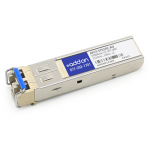 Avago AFCT-5701PZ Compatible SFP Transceiver - SFP (mini-GBIC) transceiver module (equivalent to: Avago AFCT-5701PZ) - GigE - 1000Base-LX - LC single-mode - up to 6.2 miles - 1310 nm