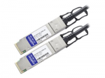 10m Juniper Compatible QSFP+ DAC - 40GBase direct attach cable - QSFP+ (M) to QSFP+ (M) - 33 ft - twinaxial - active